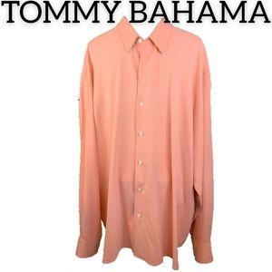 Tommy Bahama Silk Button Down Shirt (XXL)